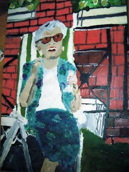 Mum painting Alexander115